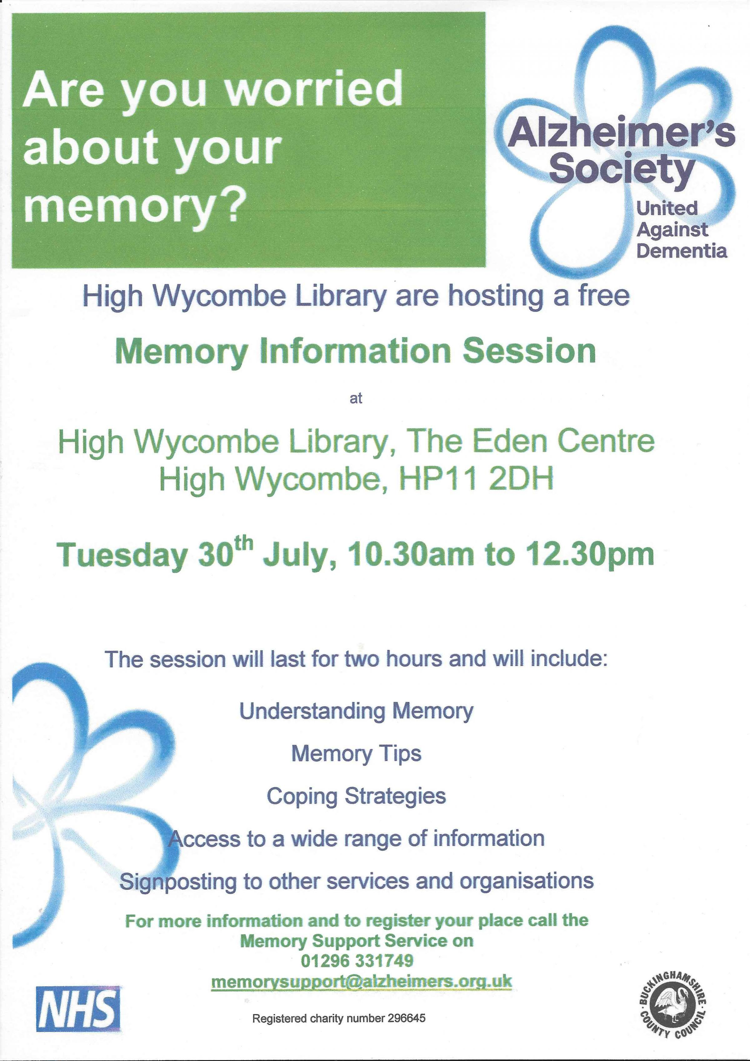 Memory Information Session
