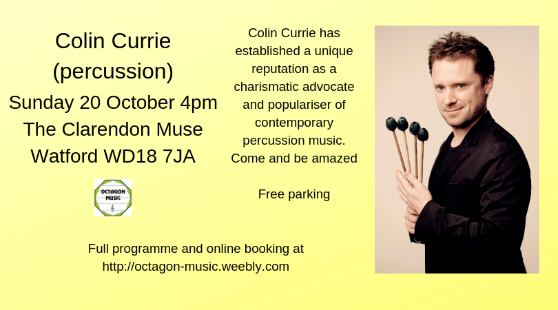 Octagon Music Society - Colin Currie (percussion)
