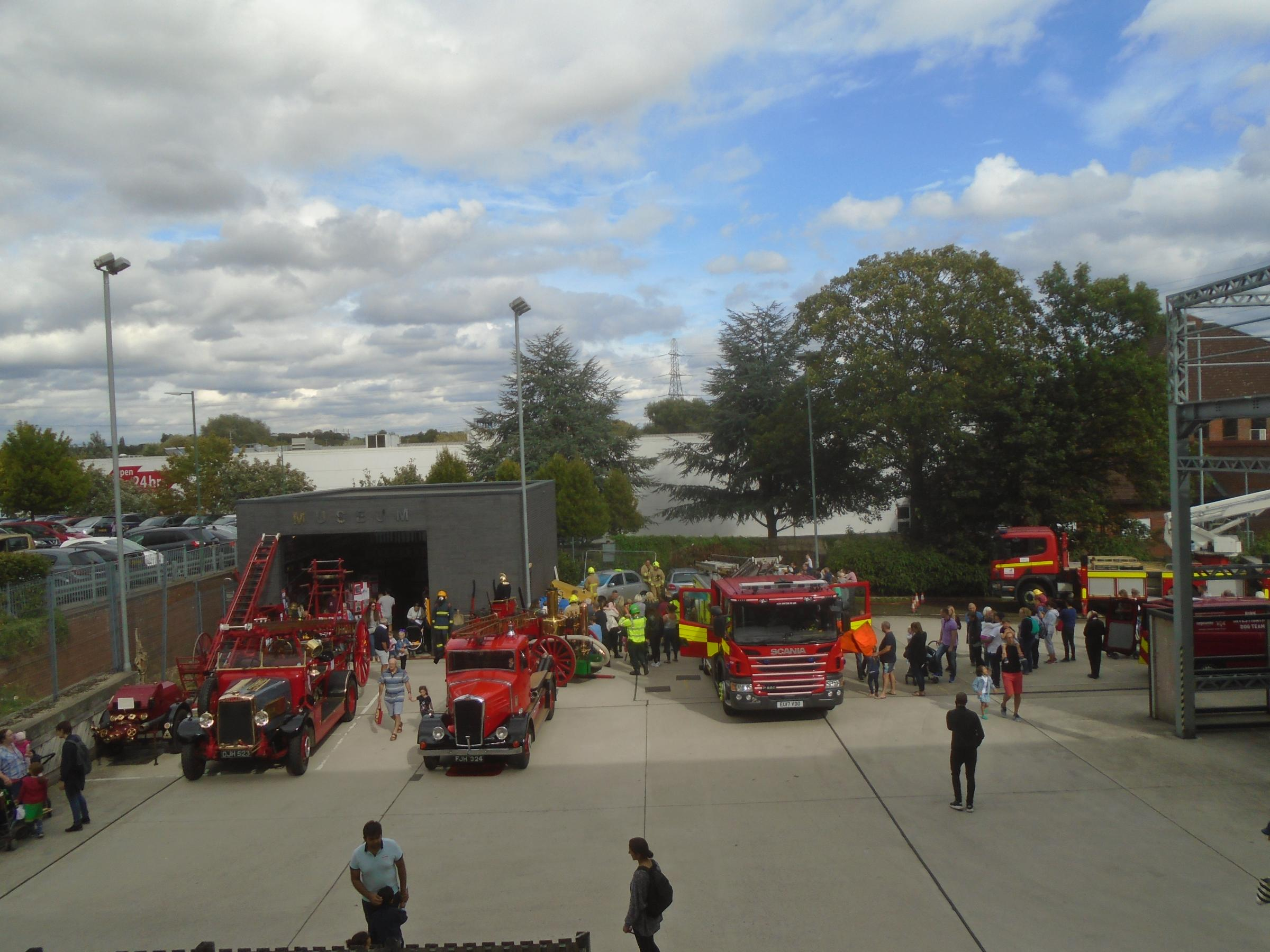 Herts Fire Brigade Museum and Fire Station Open Afternoon