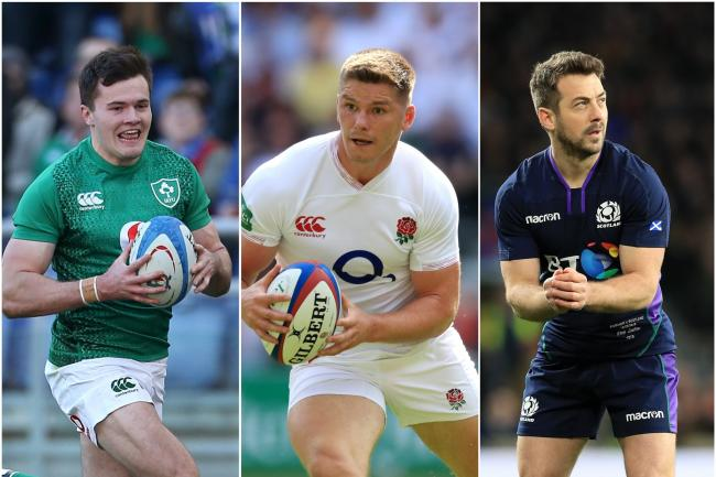 England, Ireland and Scotland are all in action on Sunday