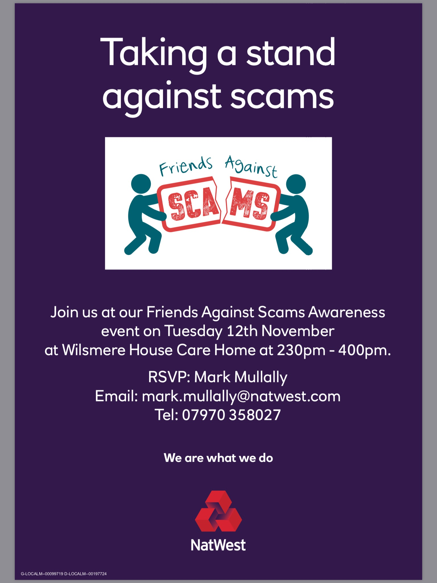 Friends Against Scams Talk