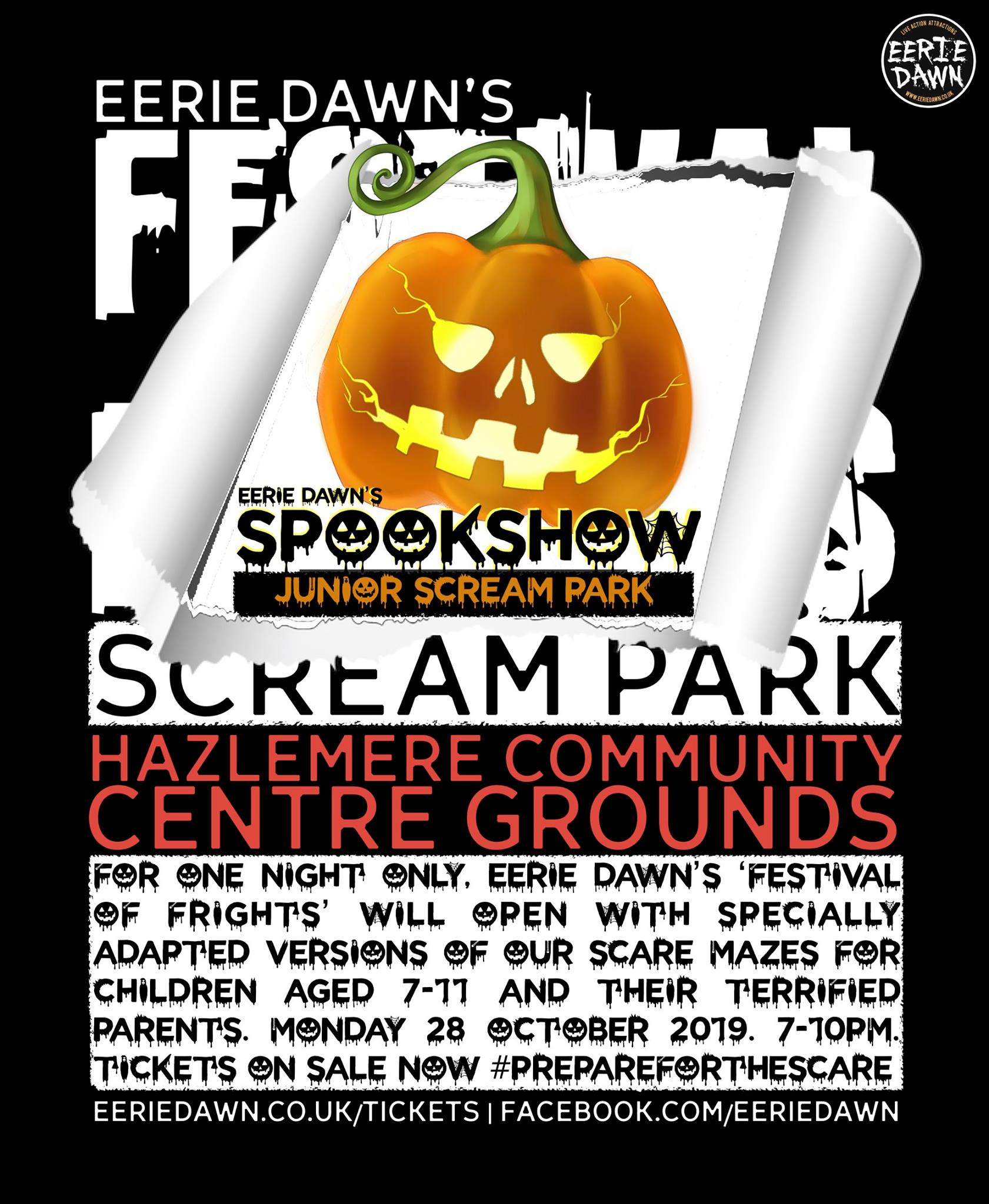 Eerie Dawn's SpookShow - Junior Scream Park