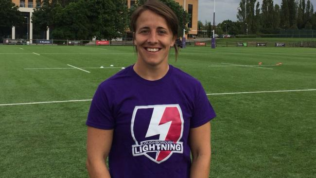 Loughborough Lightning fly-half Katy Daley-Mclean