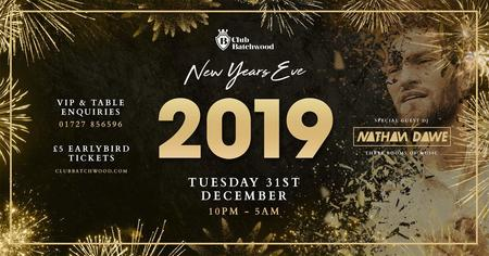 New Years Eve w Special Guest Nathan Dawe
