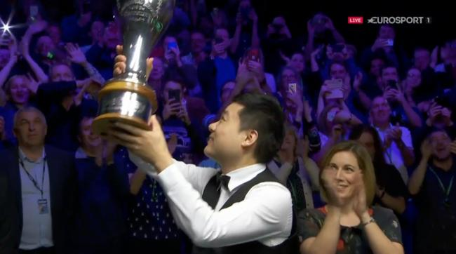 'This one means a lot,' says UK Championship winner Ding