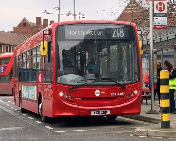 TfL is also running new services in Acton (Photo: TfL)