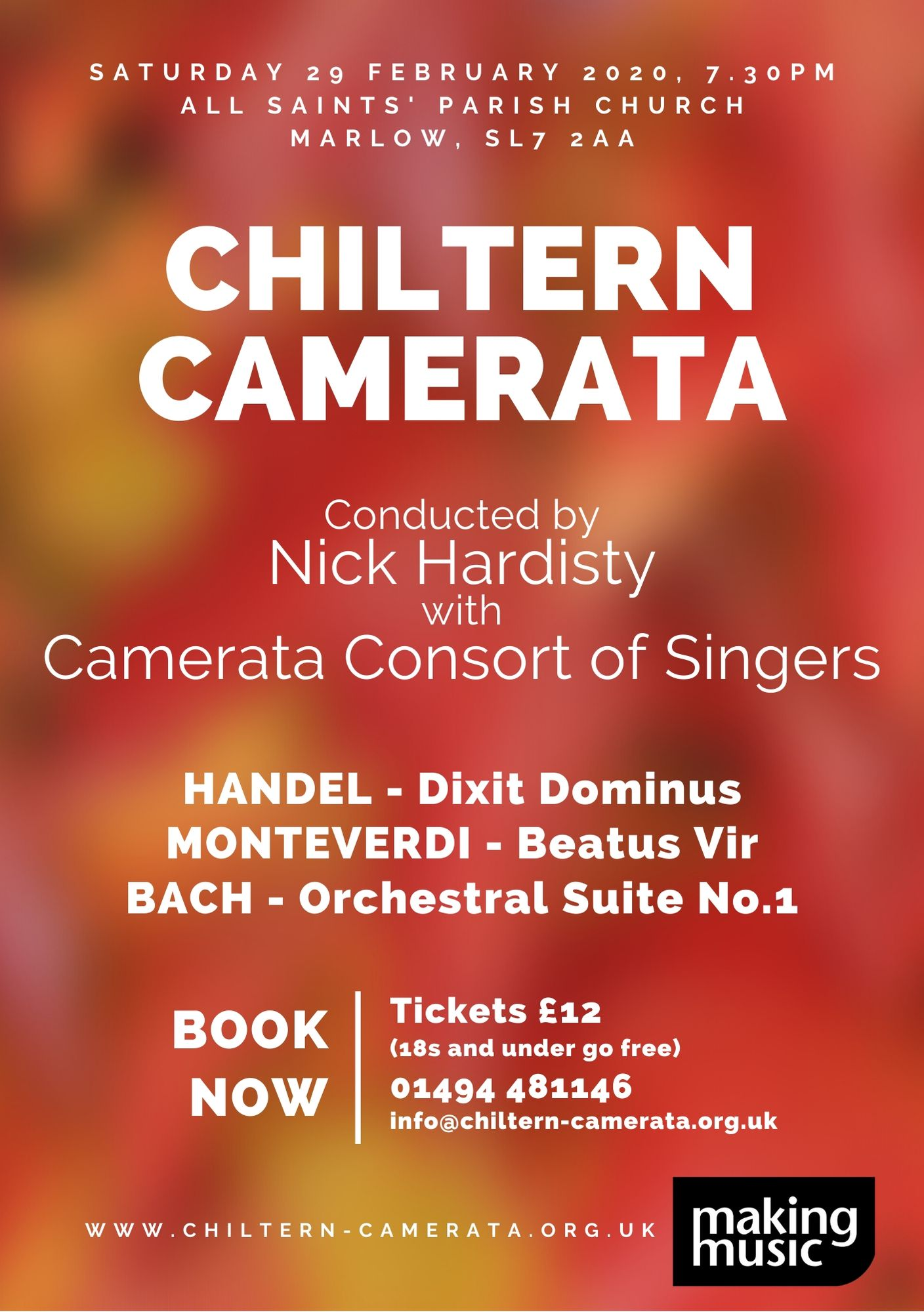Chiltern Camerata orchestra and choir concert