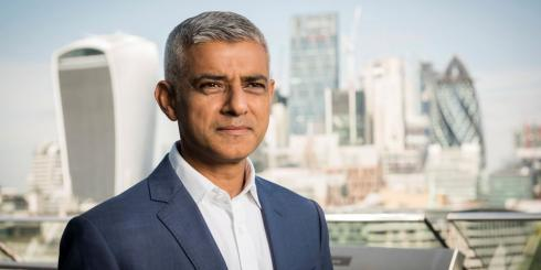 "Ealing Times: Sadiq Khan claimed last week that the mayoral election would be a ""two horse race"" with Conservative Shaun Bailey (Photo: GLA)."