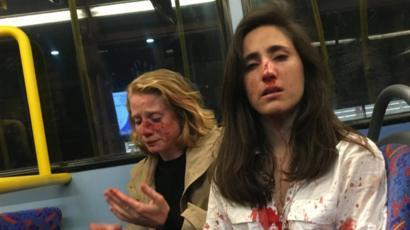 The shocking attack on a lesbian coupl on a London bus last year drew attention to LGBT+ hate crime (Photo: Melania Geymonat).
