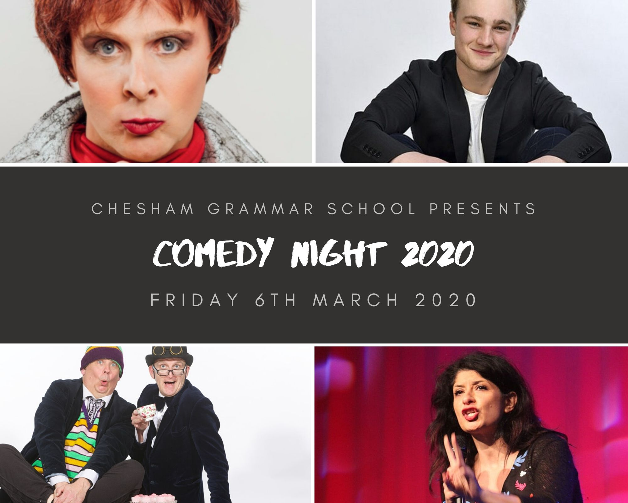 Comedy Night at Chesham Grammar School