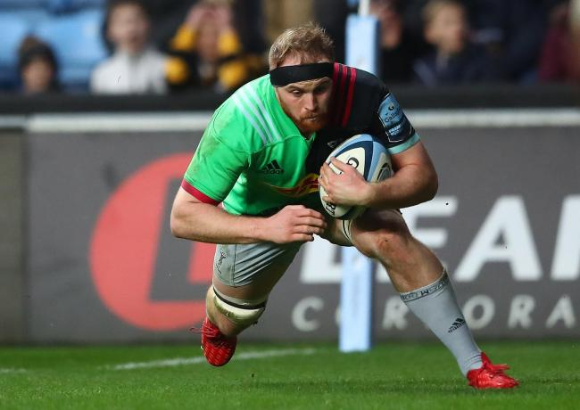 Harlequins back rower James Chisholm is hoping rugby's temporary break can help him explore wider interests away from the field
