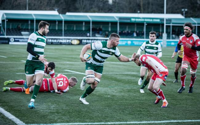 Trailfinders were held up at the last in their bid for promotion to the Premiership