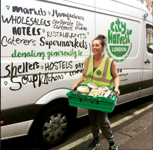 Harvest to the capital: food on its way to the homeless