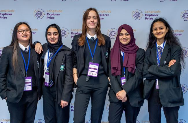 Smart work: the Greenford High School team