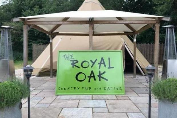 The Royal Oak in Marlow