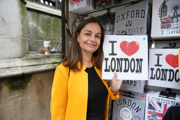 Ealing Times: The Kingston local is the daughter of Indian and Cornish parents (Photo: John Russell).