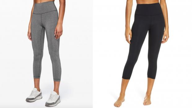 Ealing Times: These Zella leggings are half the price but are high-quality. Credit: Lululemon / Zella