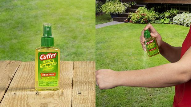 Ealing Times: Ditch the horrible smelling insect repellents for one that's fragrant and offers up to six hours of protection. Credit: Cutter