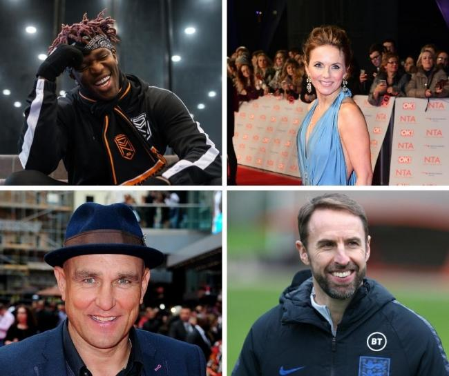 The most famous people from Watford - Including KSI and Geri Horner