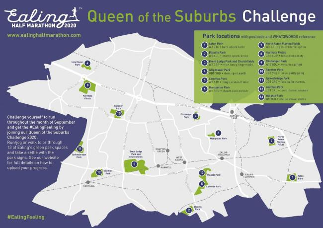 Queen of the Suburbs: the challenge around Ealing's parks