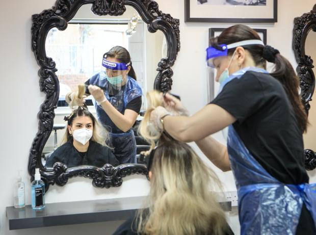 Ealing Times: The new coronavirus law could also impact those getting their hair done