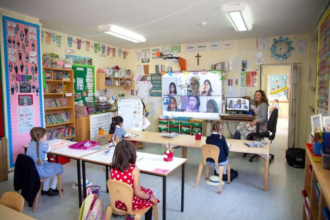 In-class and on-screen: St Augustine's blended learning