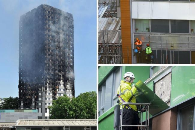 More than three years on from the Grenfell Tower fire, many buildings are yet to have dangerous cladding removed. Credit: PA