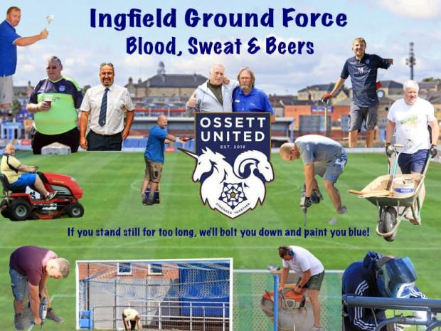 Ealing Times: Ossett are blazing a trail both on and off the pitch with their innovative 'Ground Force programme'