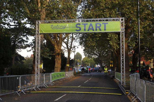 Start line: this is what organisers are planning, but only if there are enough early entrants