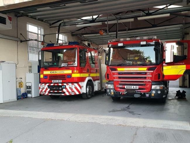 Fire crews called to bin and skip fires in Chippenham last njght