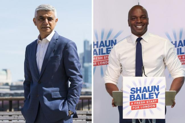 "Sadiq Khan and Shaun Bailey will attend an ""acccountability assembly"" where they will hear the needs of Londoners. Credit: PA"