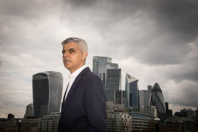 "Sadiq Khan has said a campaign to attract visitors back to central London will begin on ""day one"" if he is re-elected. Credit: PA"