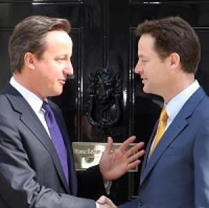 David Cameron and Nick Clegg say they have enough common ground to stay in power for five years