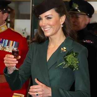 Duchess attends St Patrick's parade