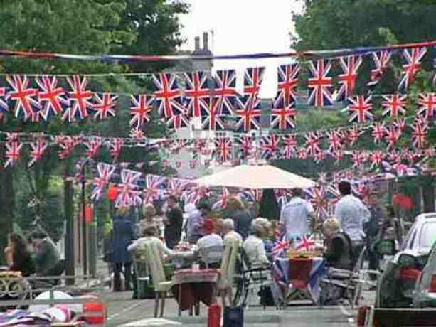 Party time: Ealing will be flying the flag
