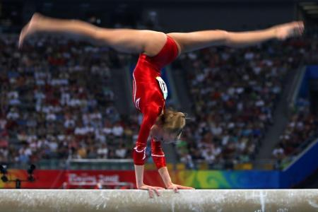 Grace and skill: gymnastics will be a major attraction at the Games