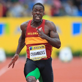 Dwain Chambers is hopeful of being named in Team GB's relay squad