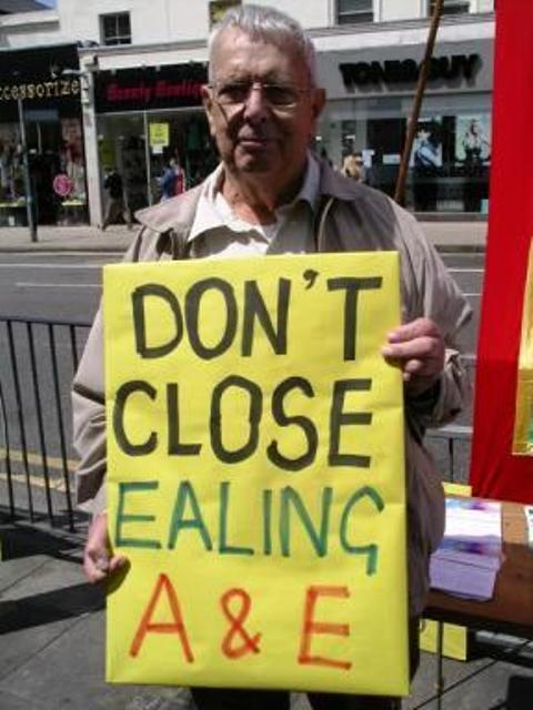 Parties unite to fight Ealing A&E closure