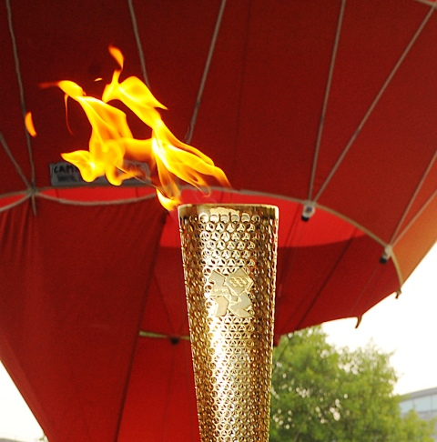 Grab your vantage point early as Olympic flame comes to Ealing
