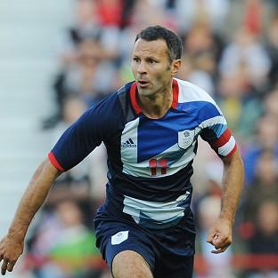 Ryan Giggs is ready to lead Team GB out at his home ground Old Trafford