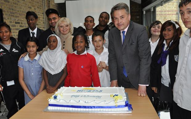 Horizons last year received Children's Minister Tim Loughton