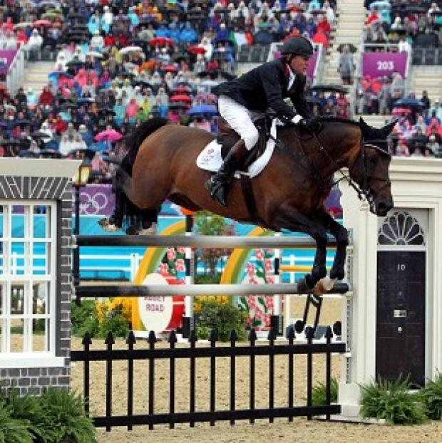 Nick Skelton,pictured, Scott Brash, Ben Maher and Peter Charles won gold in the team jumping