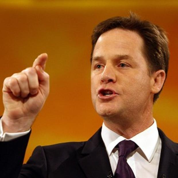 Ealing Times: Deputy Prime Minister Nick Clegg said perpetrators of domestic violence will 'not be tolerated'