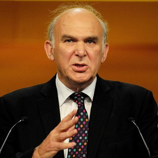 Vince Cable will hail the 'business bank' initiative in his speech to the Liberal Democrat conference in Brighton