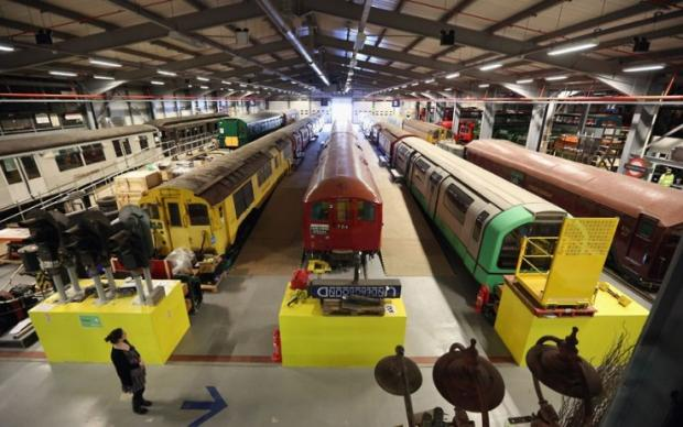 Ealing Times: Transport treasures: look inside the depot this weekend