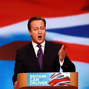 Ealing Times: Prime Minister David Cameron addresses the Conservative Party's annual conference
