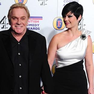 Freddie Starr and fiancee Sophie Lea presented a united front as the comedian refuted claims he had groped a teenager