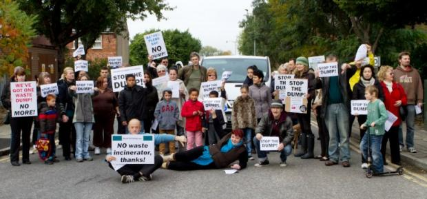 Ealing Times: We shall not be moved: show of strength