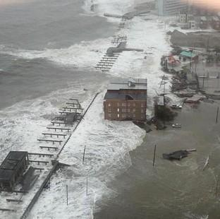 Ealing Times: The Inlet section of Atlantic City, New Jersey, as Sandy made its approach (AP/6abc Action News, Dann Cuellar)