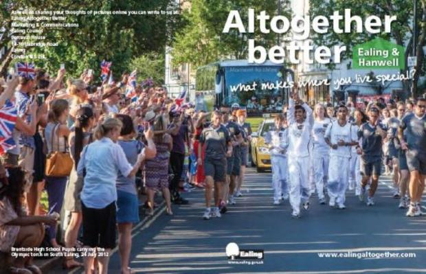 One-off: Altogether Better magazine went through every door